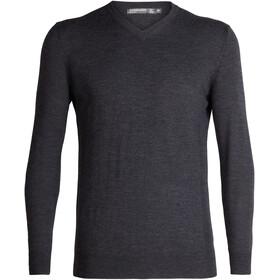 Icebreaker Shearer Sweater Herrer, grå